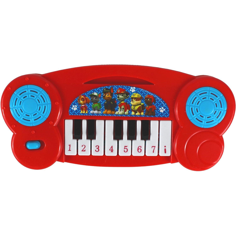 Red PAW Patrol Mini Musical Piano