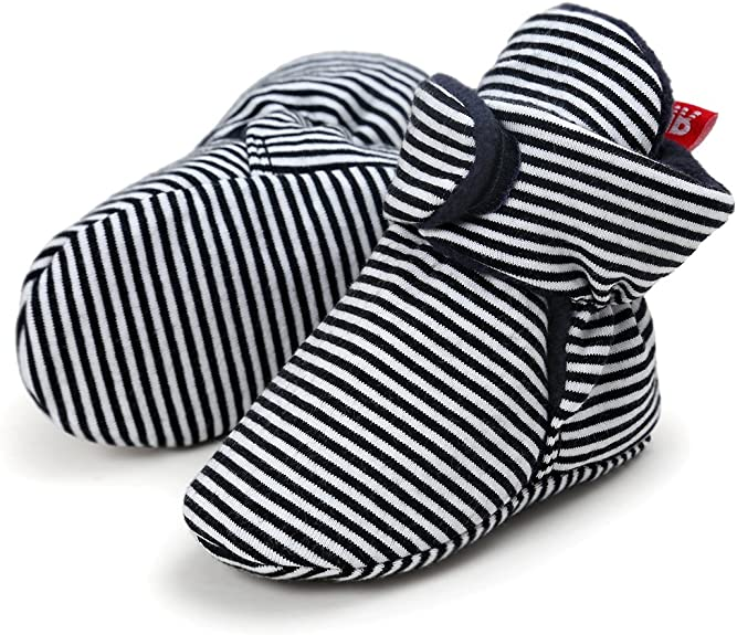 Adorel Baby Hausschuhe Krabbelschuhe Gef/üttert