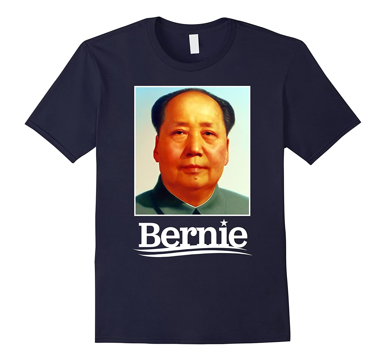 Anti Bernie Sanders Chairman Mao Zedong Funny Campaign Tee-BN