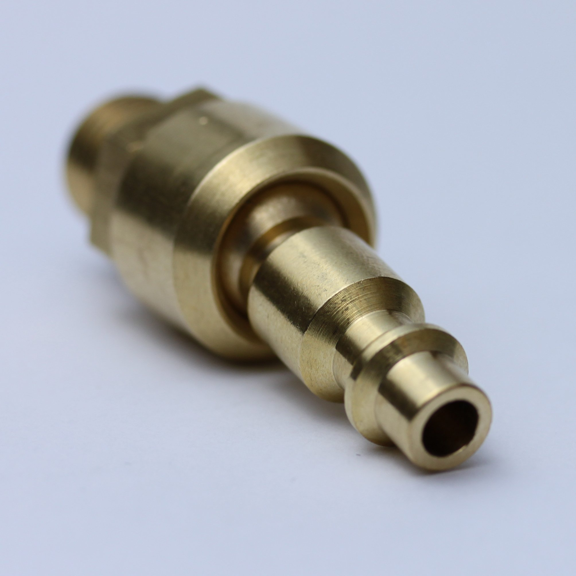 Uffy Industrial Style Ball Swivel 1//4 Connect NPT Male Quick Air Tool M Fitting