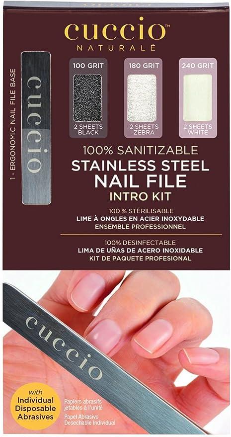 Cuccio uñas Pro Pack Kit de acero inoxidable: Amazon.es: Belleza