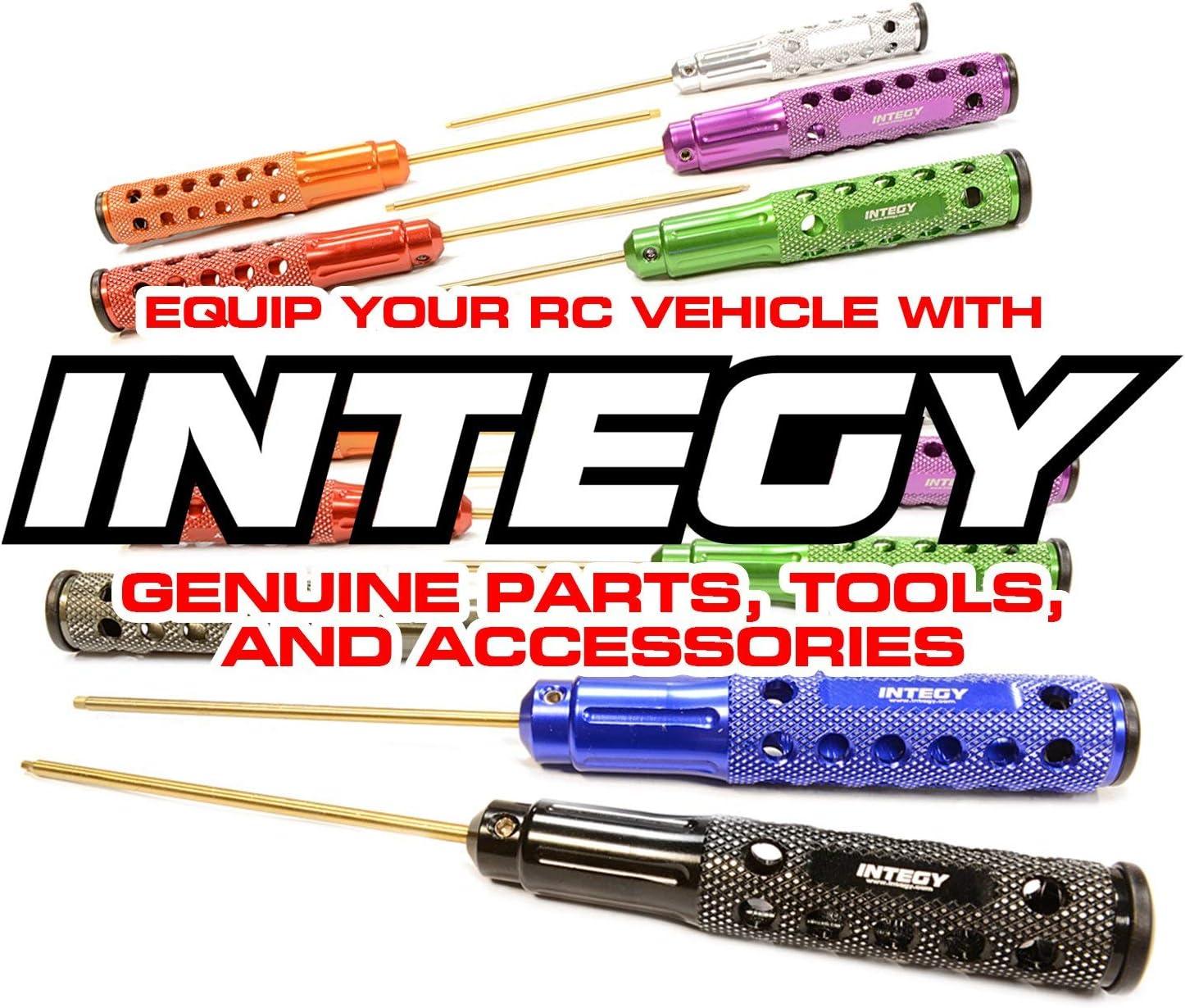 Integy RC Model Hop-ups C25685ORANGE Billet Machined Cooling Fan Cover w//LED Light for 30x30mm Fan Size