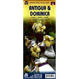 Antigua and Dominica Travel Map 1:35k/1:50k