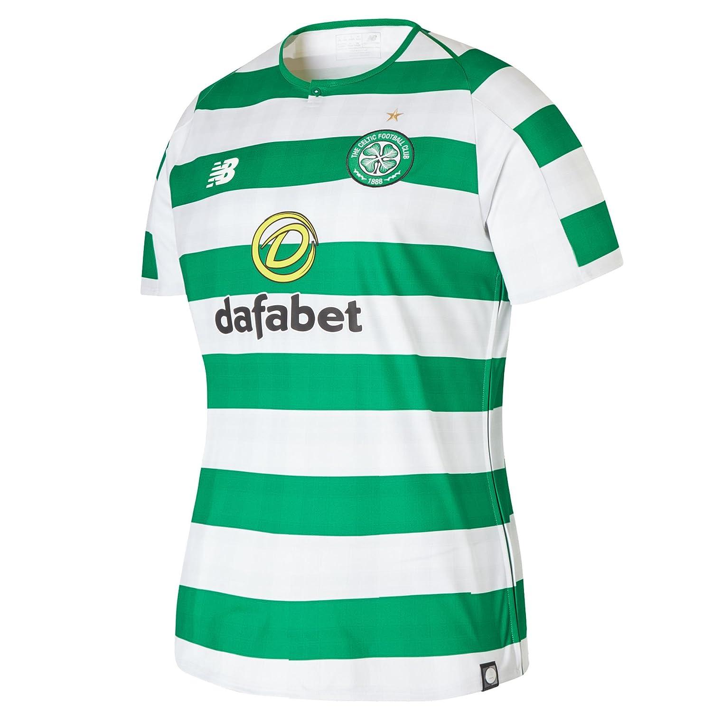 New Balance 2018-2019 Celtic Home Ladies Football Soccer T-Shirt Trikot