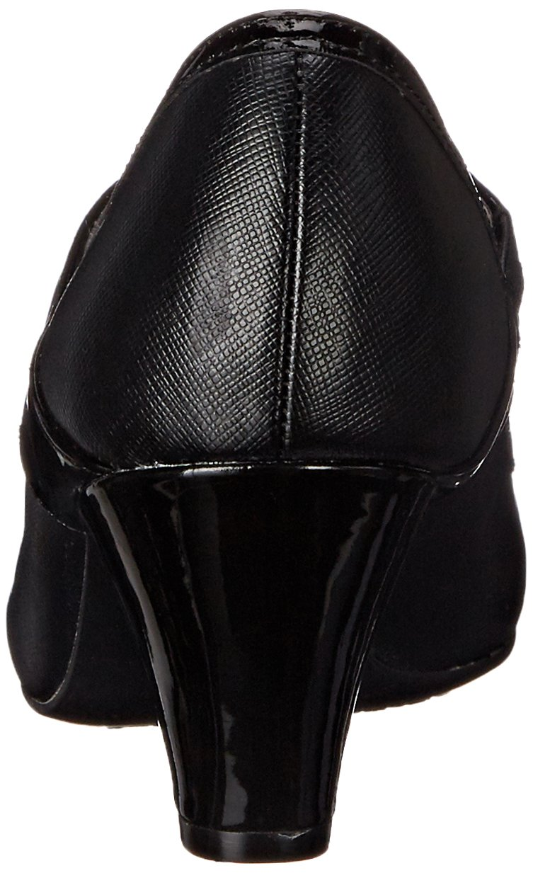 LifeStride Women's Gigi Dress Pump B015J7VVX8 7 W US|Black
