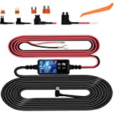 Dash Cam Hardwire Kit, Micro USB Hard Wire Kit for Dashcam, Plozoe 12V-30V to 5V Car Dash Camera Charger Power Cord, Gift 4 F