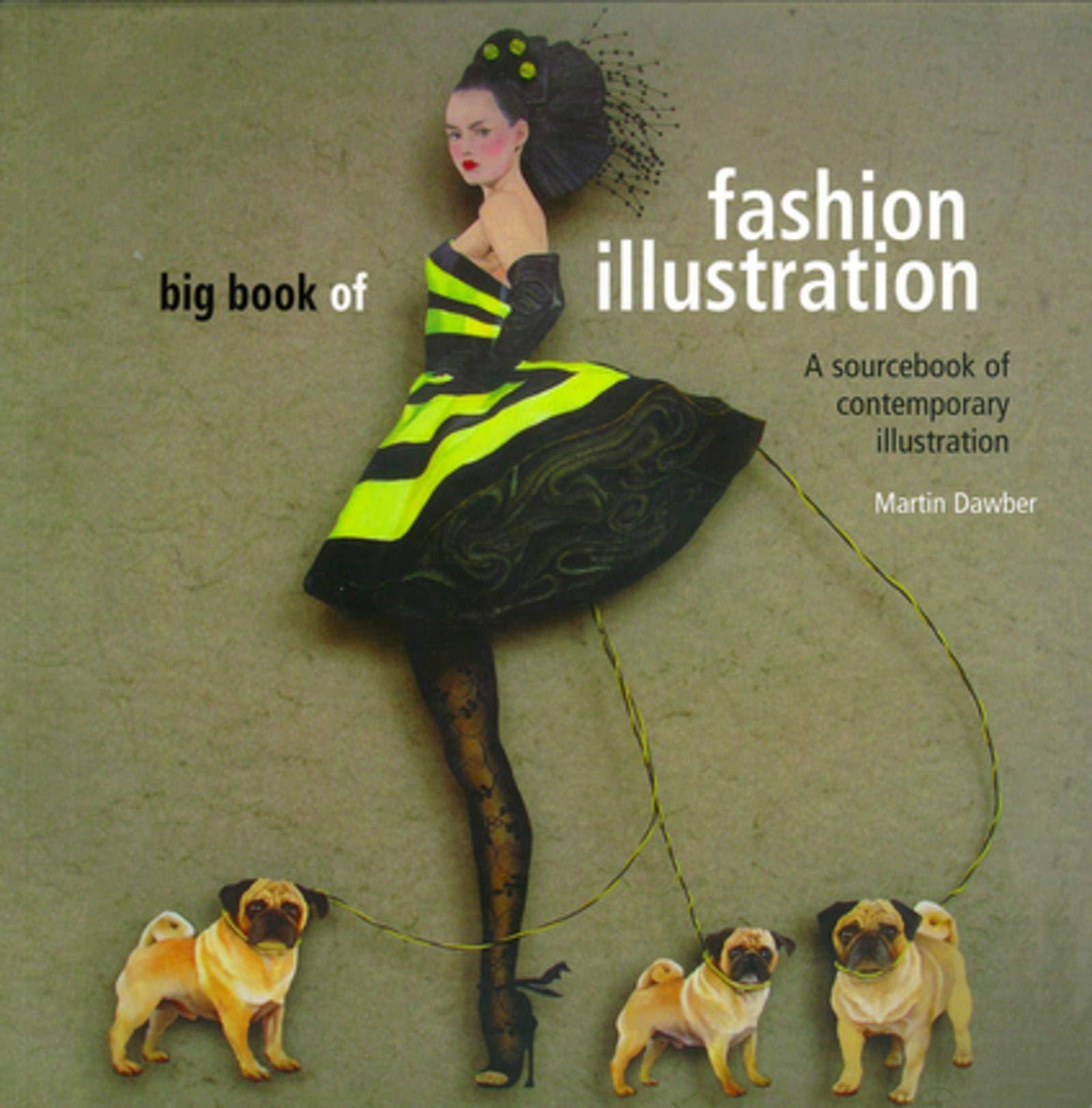Big Book Of Fashion Illustration A Sourcebook Of Contemporary Illustration Anova Books Dawber Martin 9780713490459 Amazon Com Books