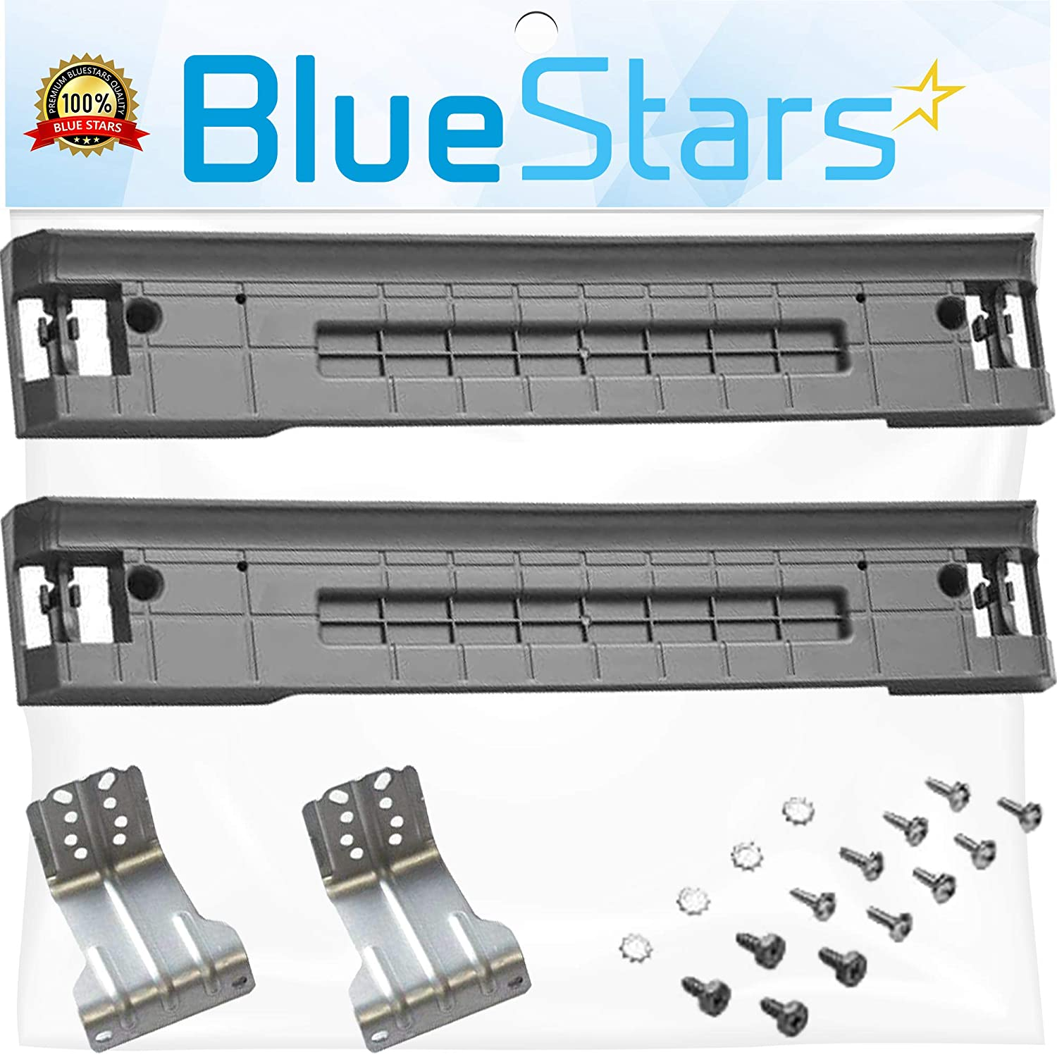 Ultra Durable SKK-7A Stacking Kit Replacement Part by Blue Stars - Exact Fit for Samsung Washer and Dryer - Replaces SKK-7A SK-5AXAA SK-5A