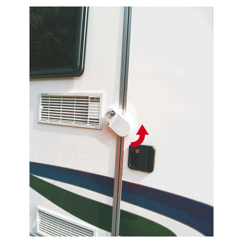 Fiamma Integratore di serratura Safe Door Bianco il set di 3