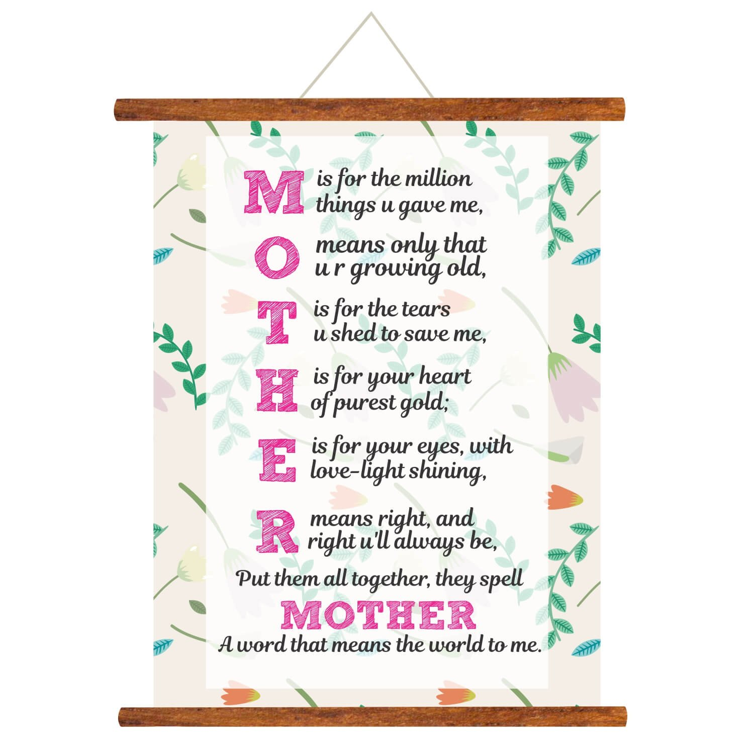 Fabulous Yaya Cafe Mothers Day Greeting Cards Mom You Mean The World To Me Funny Birthday Cards Online Fluifree Goldxyz