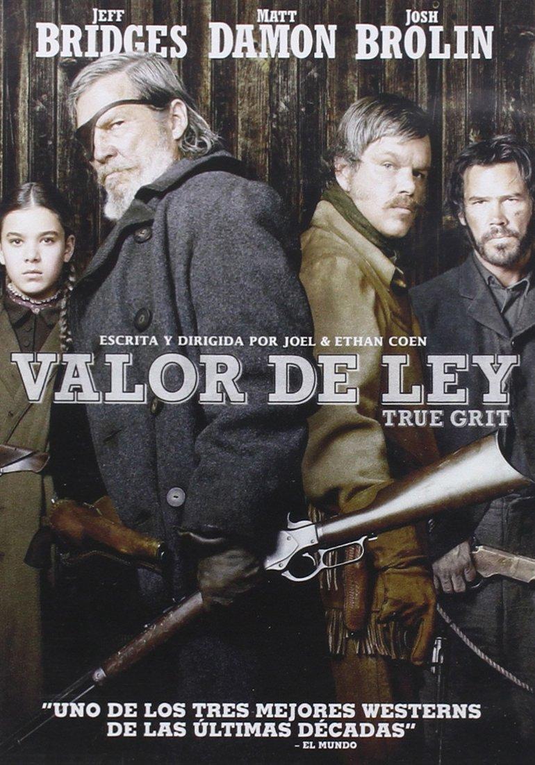 Valor de ley [DVD]: Amazon.es: Jeff Bridges, Joel & Ethan Coen: Cine y Series TV