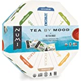Numi Organic Tea By Mood Gift Set, 40 Count Tea Bag Assortment - Premium Organic Black, Pu-erh, Green, Mate, Rooibos…