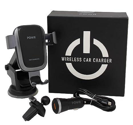 Amazon.com: POWR Cargador de coche inalámbrico rápido ...