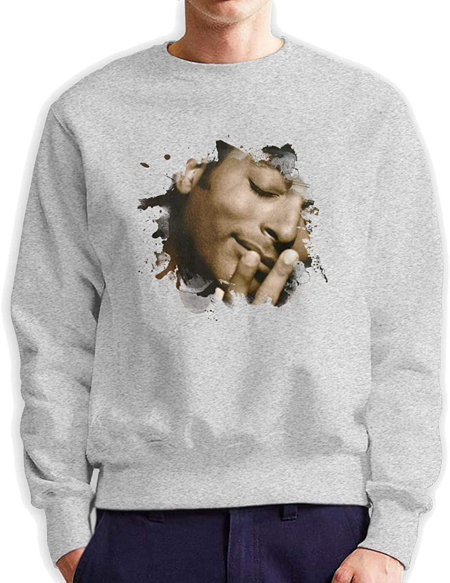Hip Hop Sweatshirts Pullovers for Men Stylish Cotton Hoodied Sweater Round Neck Full Sleeve Large Shirts Fans Collection