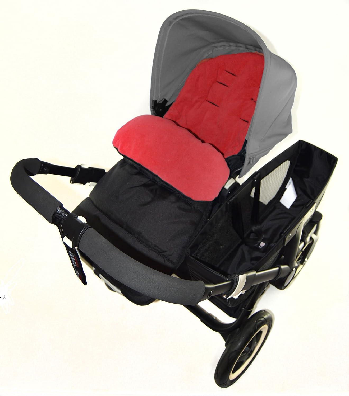 Saco/Cosy Toes Compatible con Bugaboo Bee para carrito, color rojo: Amazon.es: Bebé