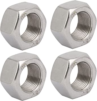 "STEEL HEX NUTS-UNF IMPERIAL ZINC PLATED 3//8/"" QTY x 100"