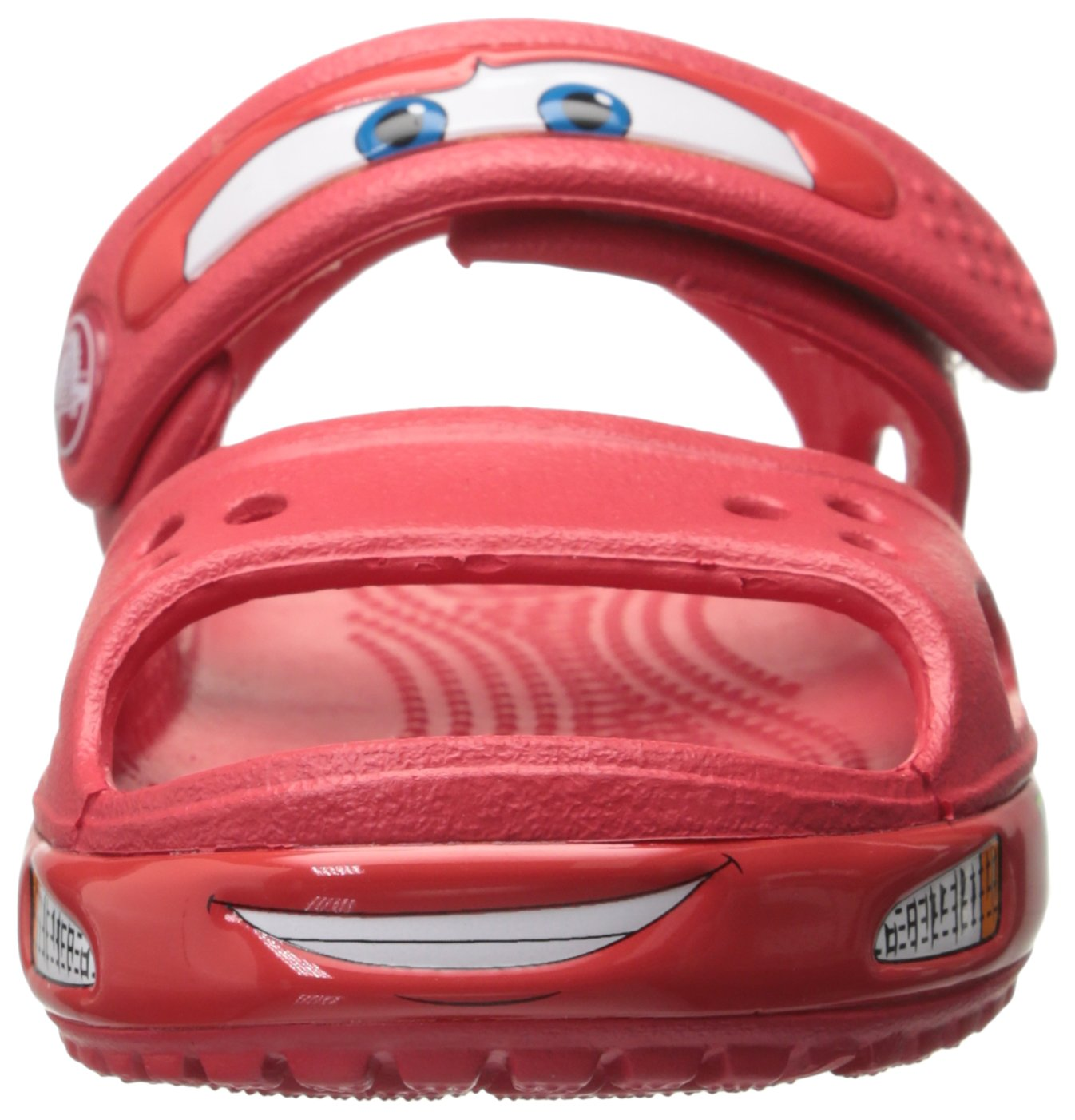 Crocs Crocband II Cars Sandal (Toddler/Little Kid), Red, 6 M US Toddler by Crocs (Image #4)