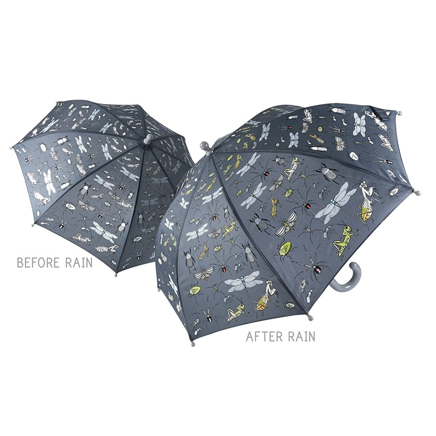 amazon com bugs design color changing kids 60 x 70 cm umbrella