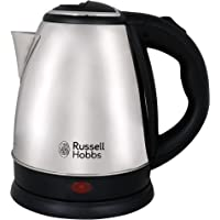 Russell Hobbs Automatic Stainless Steel Electric Kettle Dome 1515 1500 Watt - 1.5 Litre