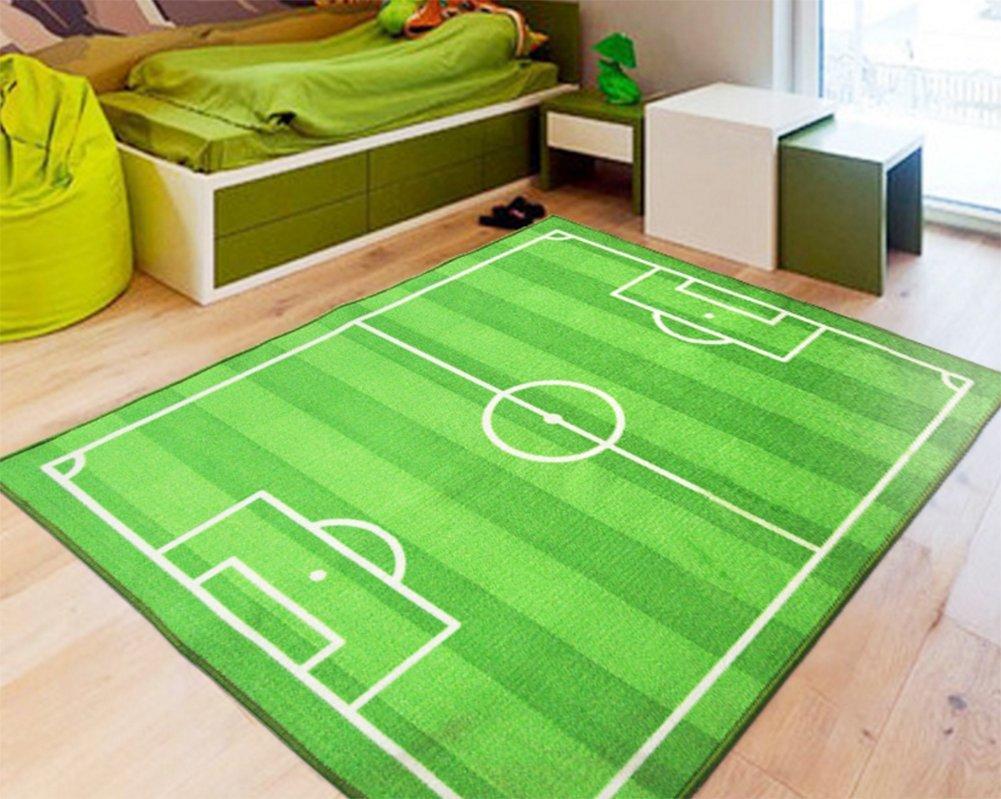 Tappeti Per Bambini Campo Da Calcio : Imffse tappeto per bambini campo da calcio casa soggiorno camera