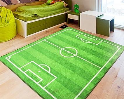 Tappeti Per Bambini Campo Da Calcio : Tappeto per bambini campo da calcio casa soggiorno camera da letto