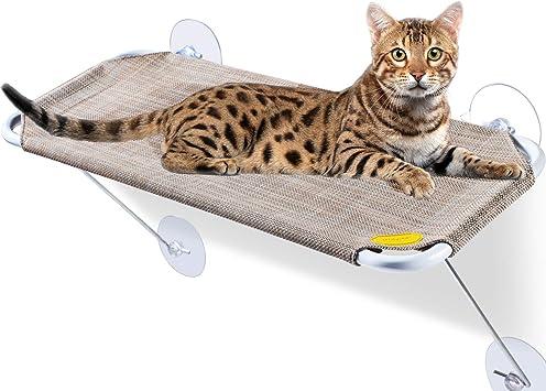 Amazon.com: LsaiFater - Asiento para ventana de gato, hamaca ...