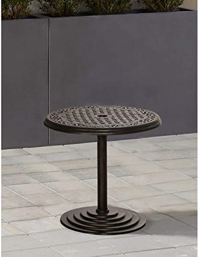 Hanover 25 in. Round Umbrella Side Table
