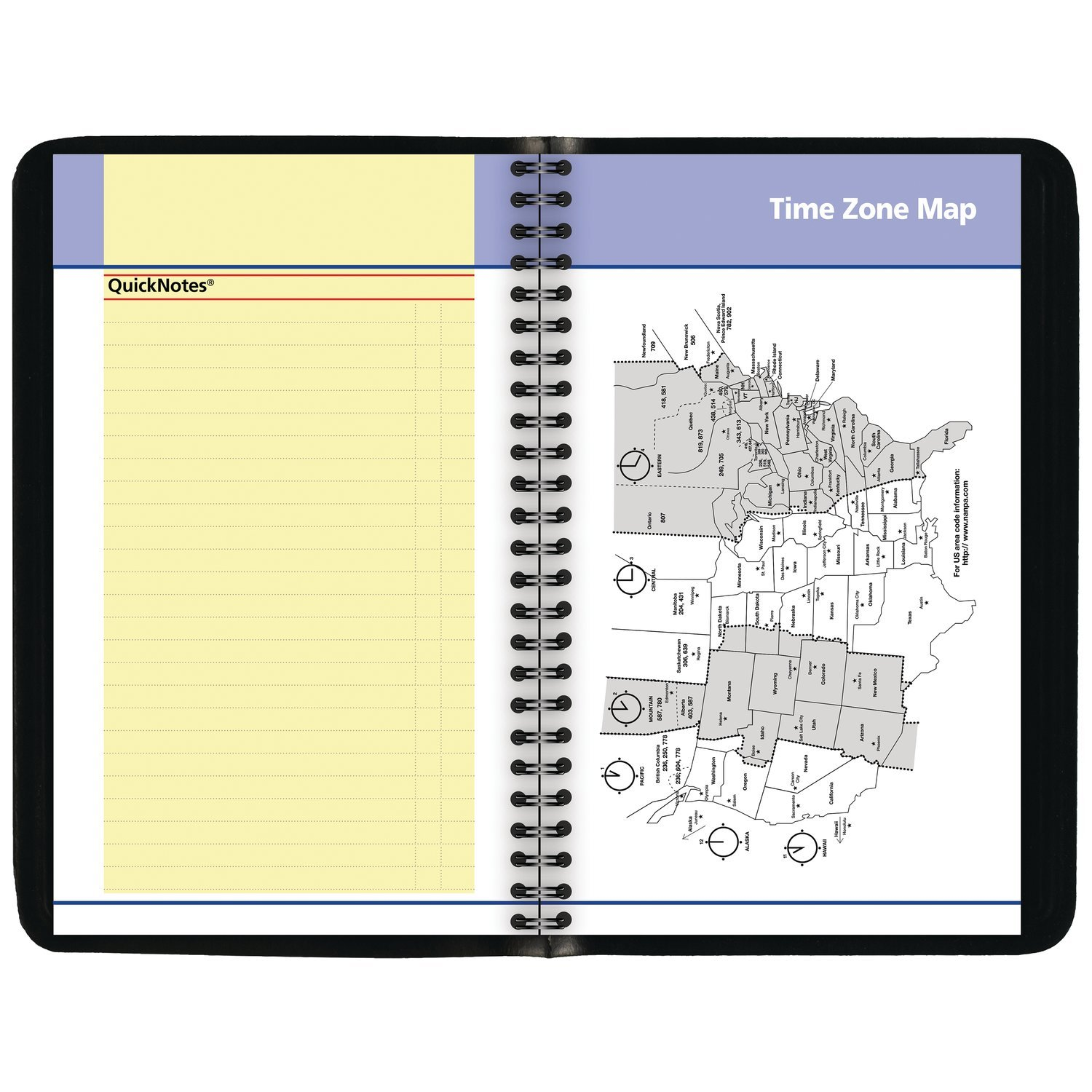 AT-A-GLANCE Weekly / Monthly Appointment Book / Planner, January 2019 - December 2019, 3-3/4'' x 6'', Black (760305) by At-A-Glance (Image #5)