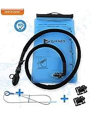 Luamex® Premium Trinkblase - 2L Wasserblase - BPA- Libres y geschmacklos - Trinksystem con