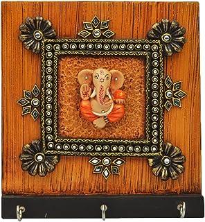 Crafticia Indian Craft Rajasthani Pink City Jaipur Unique Wooden Traditional Handmade Handicraft Spiritual Lord Ganesha Paper