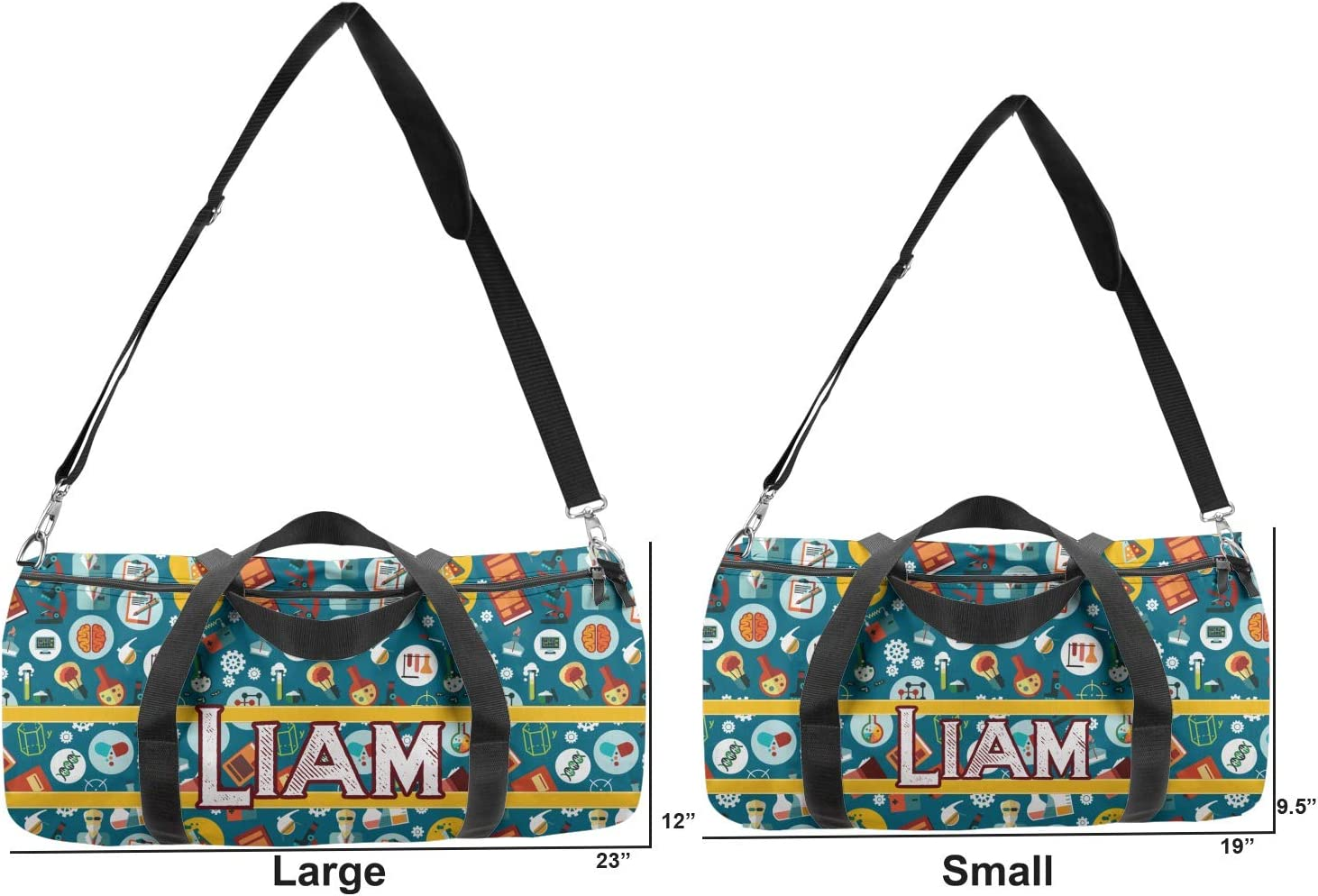YouCustomizeIt Rocket Science Duffel Bag Personalized