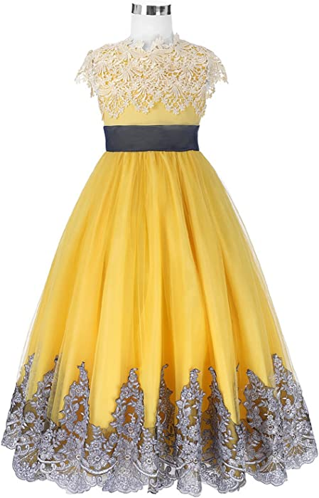 a6a16393af Clothing Square girls dress Girls Dresses Princess Ball Gown Flower Girl  Dresses for Wedding Party Pageant
