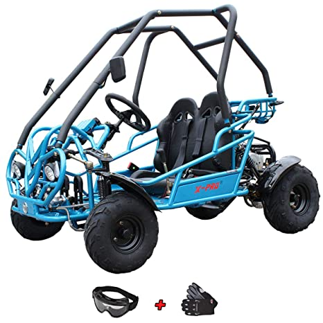 Kids Dune Buggy >> Amazon Com X Pro 125cc Go Kart Middle Size Dune Buggy Youth