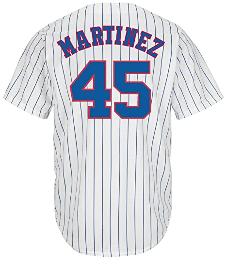 reputable site dd2f3 f5f05 Pedro Martinez Montreal Expos Majestic Cooperstown Cool Base Jersey  (XX-Large)