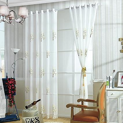 Moresave Fiori floreali Tappeto Velluto finestra tende pannello ...