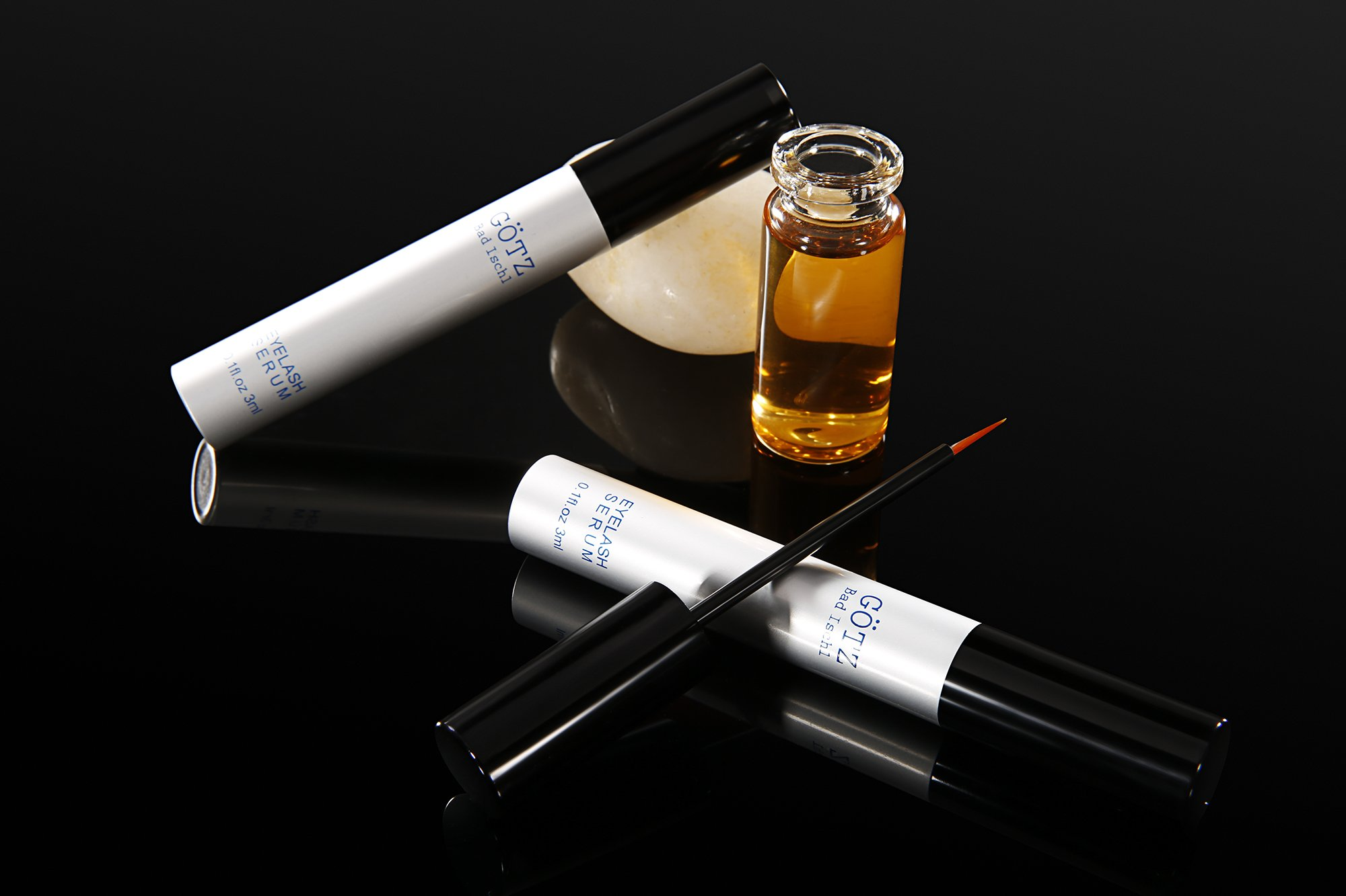 Eyelash Growth Serum GÖTZ BAD ISCHL Lash Growth Serum & Brow Serum for Longer Fuller and Thick Eyelashes and Eyebrows
