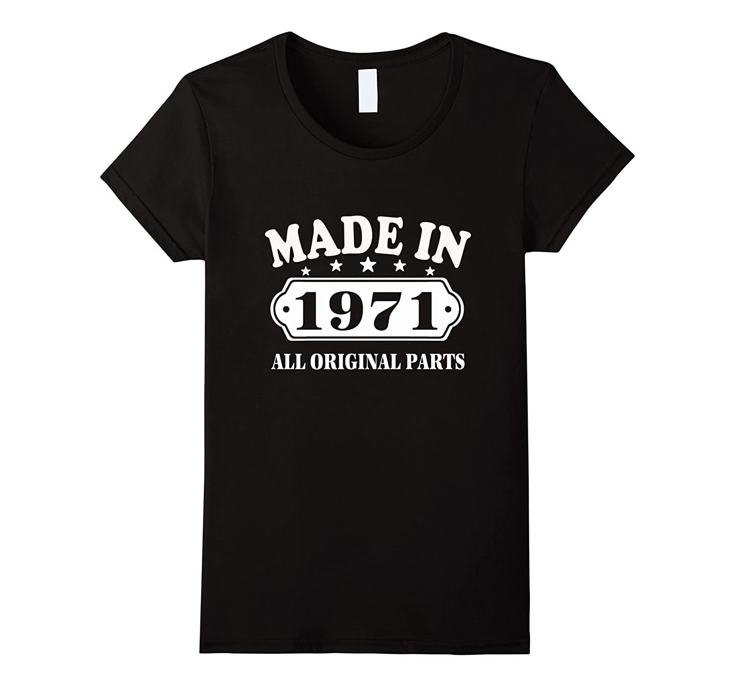 46 Birthday T-Shirt Vintage Made in 1971 ideas Man Shirt