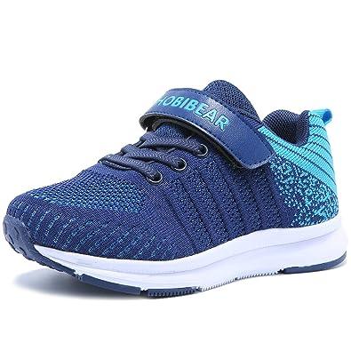 d7a713245532d HOBlBEAR Hallenschuhe Kinder Turnschuhe Jungen Sport Schuhe Mädchen  Kinderschuhe Sneaker Outdoor Laufschuhe für Unisex-Kinder