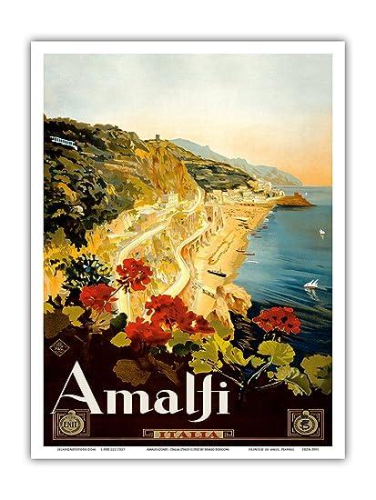 Amazon com: Amalfi Italia - Campania, Italy - Vintage World
