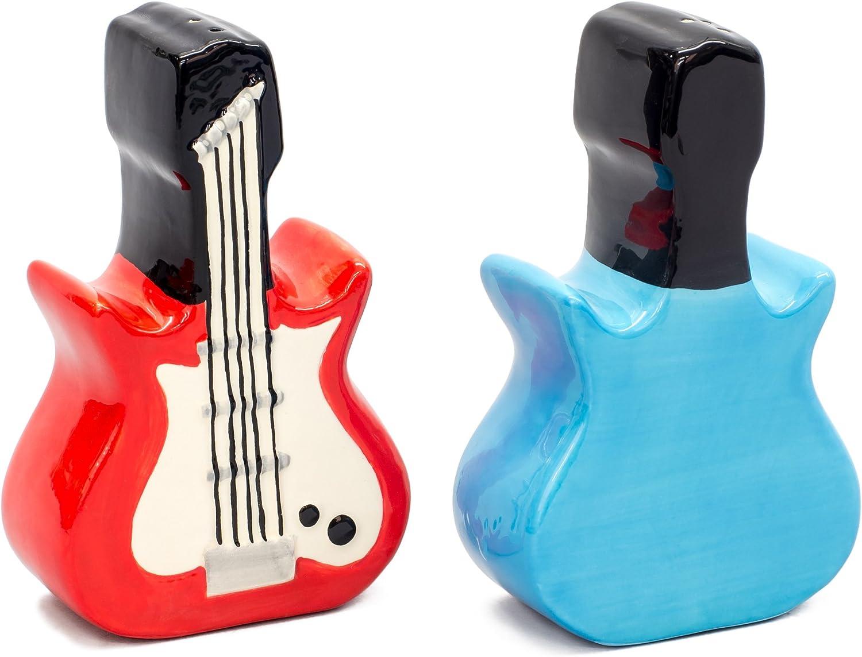 Dueling Electric Guitars Salt and Pepper Shaker Set