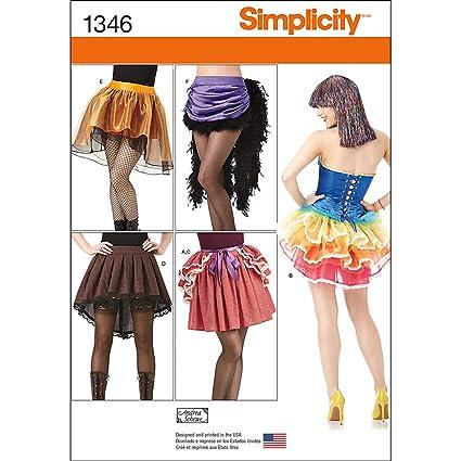 Amazon Simplicity Creative Patterns 1346 Misses Costume Skirts