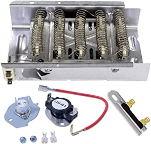 NED4600YQ1 AMANA DRYER HEATING ELEMENT, THERMOSTAT AND FUSE KIT