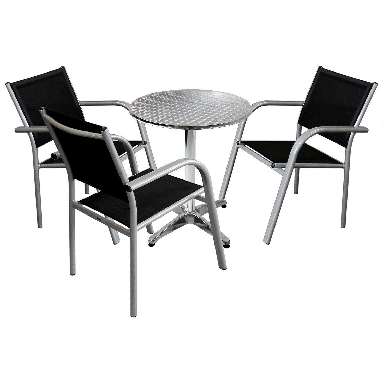 4tlg. Gartenmöbel Balkonmöbel Bistro Set Sitzgruppe - Bistro ...