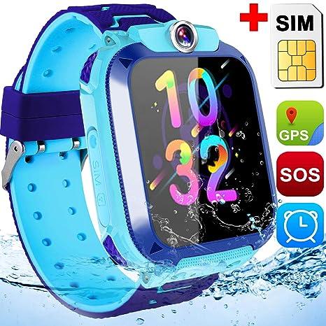Amazon.com: Reloj inteligente para niños con ranura para ...