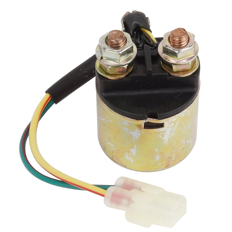 amazon com: caltric starter relay solenoid fits honda trx350 trx 350  fourtrax rancher 2000-2006: automotive