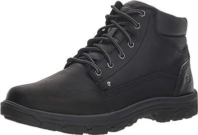 Skechers negro 65573 bbk botas para caballero