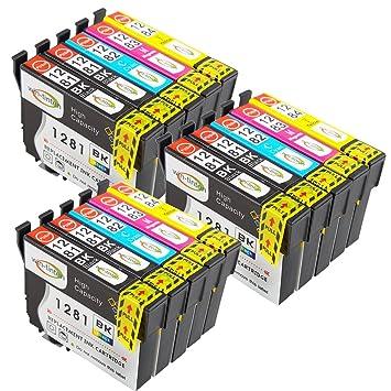 Win de tintas 15 T1281 - T1284 Cartuchos de impresora compatibles ...