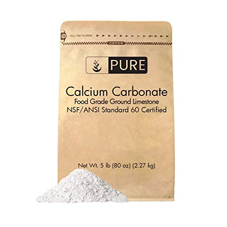 pasta de dientes con carbonato de calcio