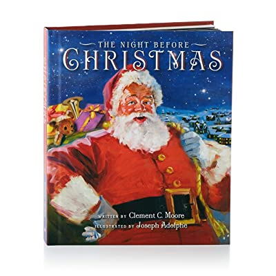 Hallmark The Night Before Christmas Recordable Storybook Recordable Storybooks Santa Claus Juvenile Fiction: Everything Else