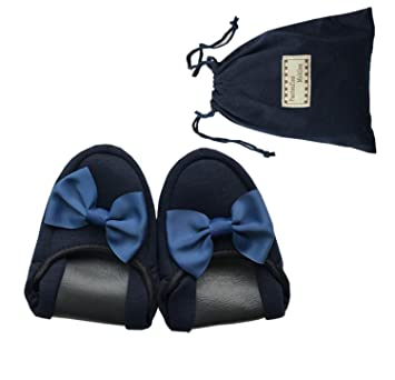 fe8a2e3ed GDXH New Women Travel Airlines Portable Folding Slippers Hotel Mute  Soft-bottom Slippers Storage Bags